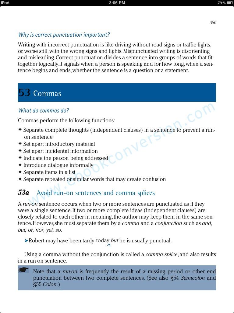 iBookAuthor sample page