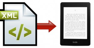 XML to Kindle Conversion